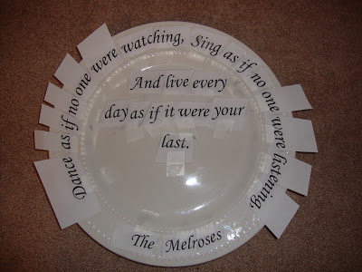 How To Add Words to a Plate Craft