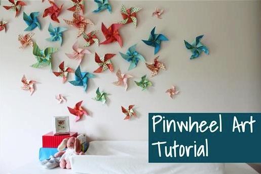 DIY Pinwheels Tutorial! {Fun Birthday, Wedding, or Home ...