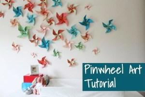 Pinwheel Art-Tutorial