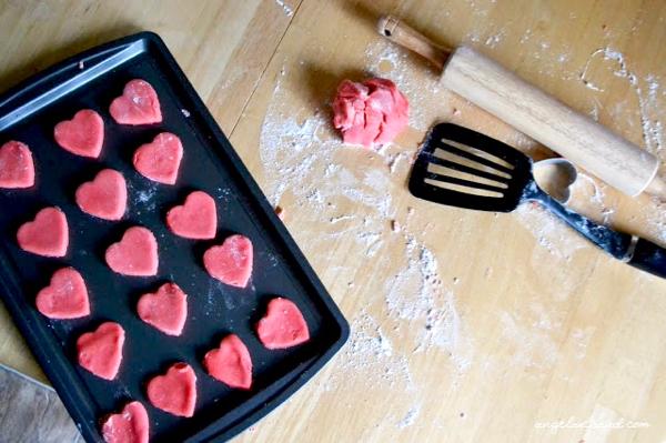 Strawberry Jello Cookies