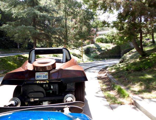 Disneyland Autopia Cars