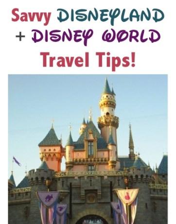 Disneyland Disney World Travel Tips