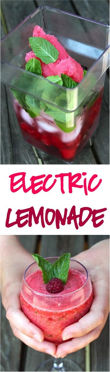 Frozen Raspberry Lemonade Recipe | TheFrugalGirls.com