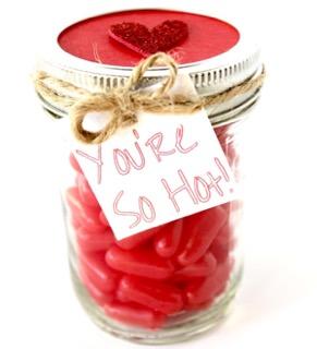 Fun Valentine's Day Gift in a Jar