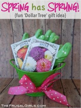 Gardening Basket Gift Ideas