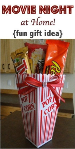 Movie Night at Home Gift Idea