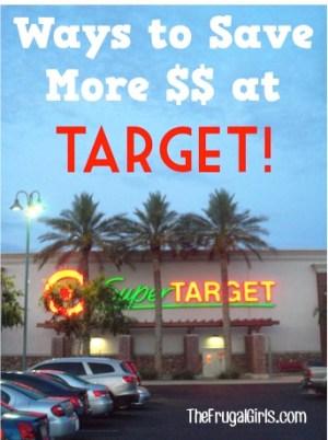 Ways to Save at Target