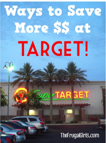 Ways to Save More at Target Tips