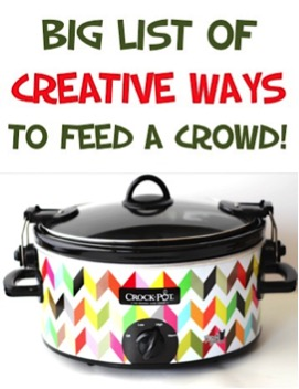 Easy Recipes to Feed a Crowd on a Budget from TheFrugalGirls.com