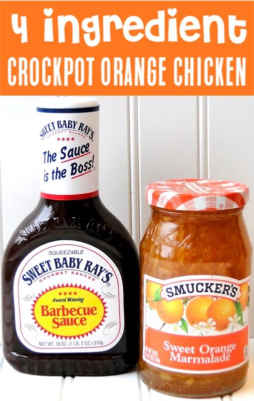 Crockpot Orange Chicken Recipe - Easy Crock Pot Dinner