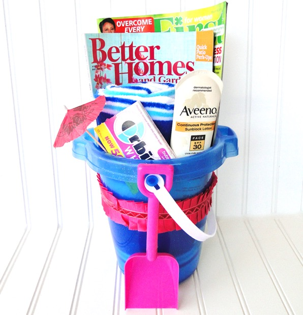 Summer in a Bucket Gift Idea