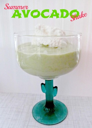 Avocado Smoothie Recipe at TheFrugalGirls.com