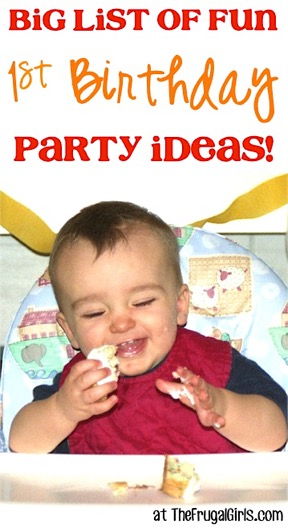 First Birthday Party Ideas on a Budget