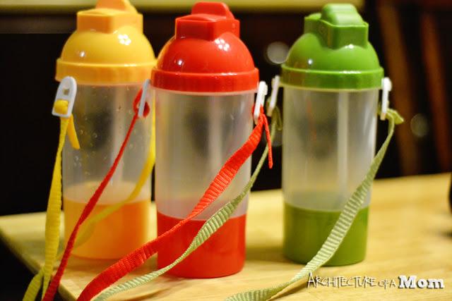Dollar Store Water Bottle Craft