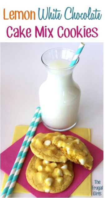 Lemon Cake Mix Cookie Recipes