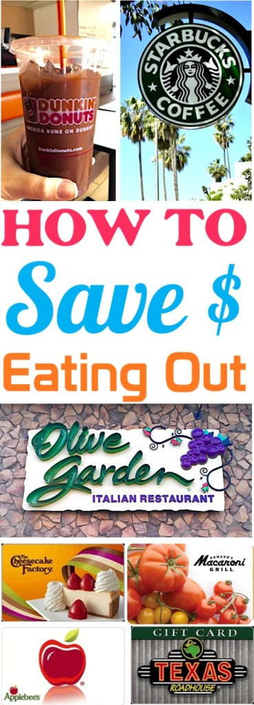 Save Money on Food While Traveling and Eating Out