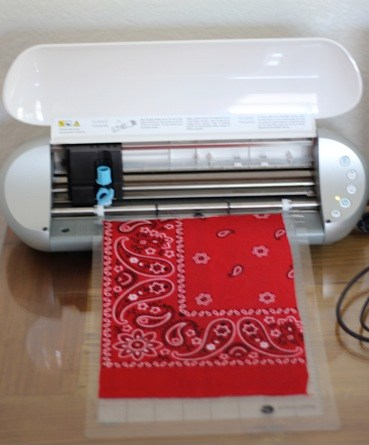 Silhouette Cutting Fabric