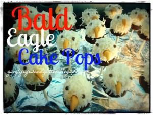 Bald Eagle Cake Pops Tutorial