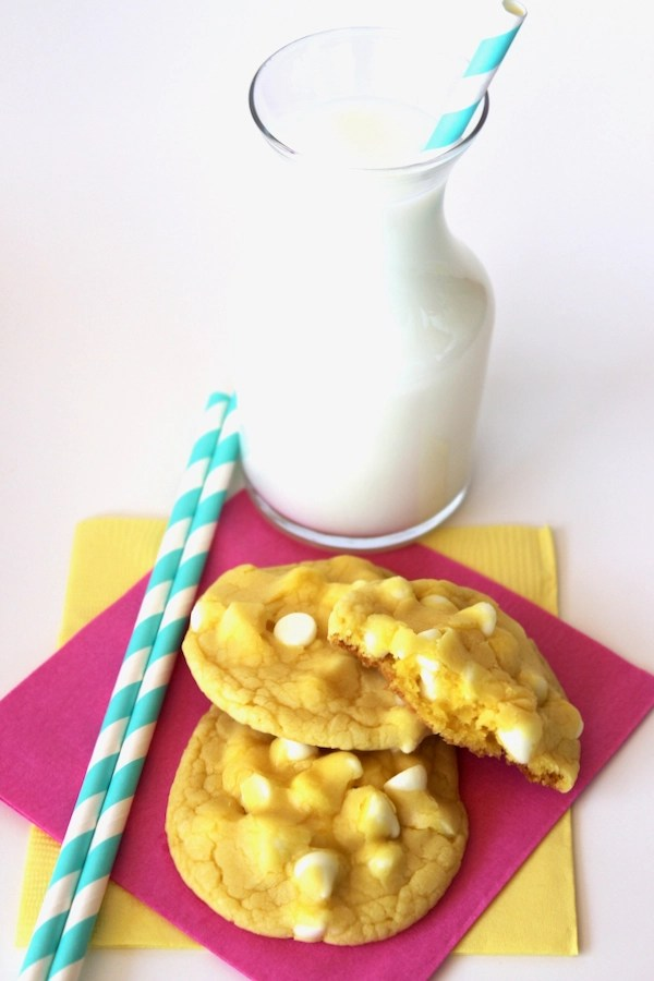 Lemon White Chocolate Cookie Recipe