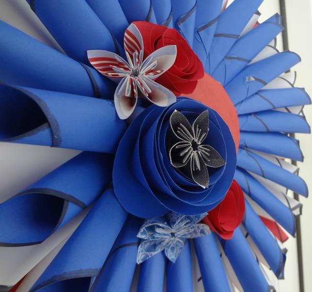 Patriotic Front Door Wreath Project