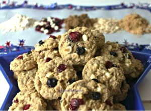 Cranberry White Chocolate Oatmeal Cookies Recipe