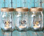 DIY Mason Jar Candles Jars