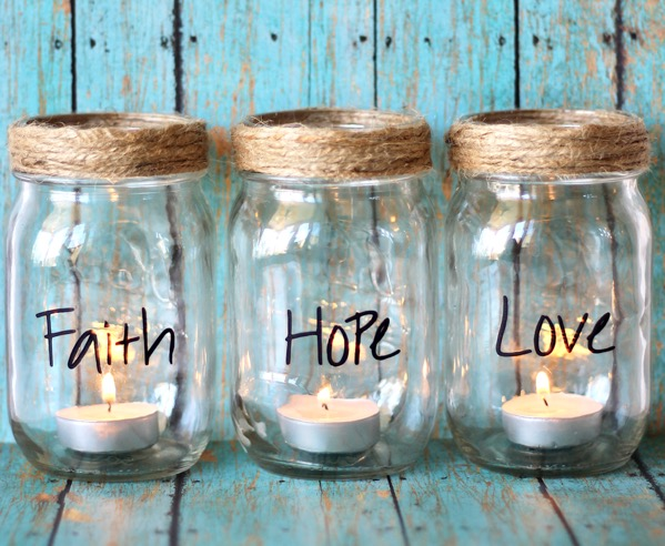 DIY Mason Jar Candles Jars