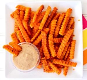 Marshmallow Cream Dipping Sauce Recipe for Sweet Potato Fries