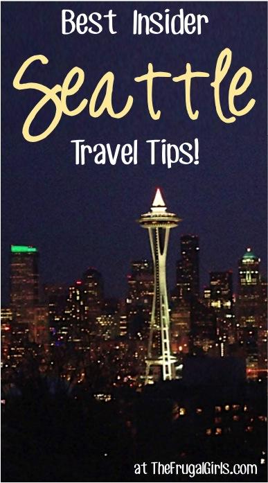 Best Insider Seattle Travel Tips at TheFrugalGirls.com