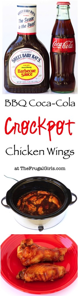 Crockpot BBQ Coca Cola Wings Recipe