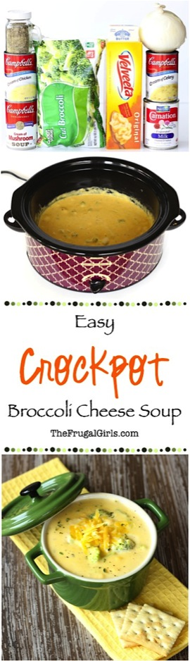 Crockpot Broccoli Cheese Soup Recipe