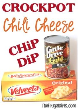 Crockpot Chili Cheese Chip Dip