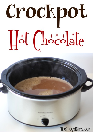Crockpot Hot Chocolate Recipe from TheFrugalGirls.com