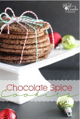 Chocolate Spice Cookies Recipe