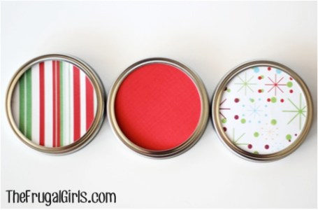 Gifts in a Jar Lid Ideas at TheFrugalGirls.com