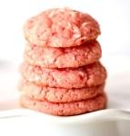 Strawberry Coconut Cake Mix Cookies Recipe Easy