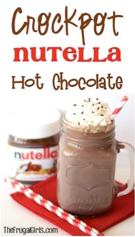 Crockpot Nutella Hot Chocolate!