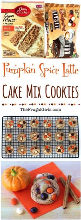 Pumpkin Spice Latte Cookies Recipe