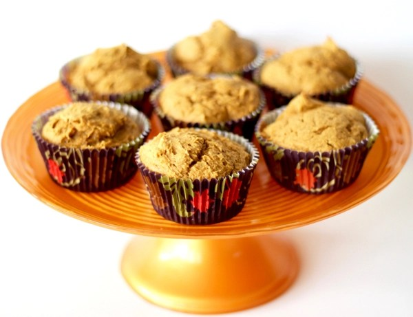 Pumpkin Spice Muffins Recipe with Cake Mix