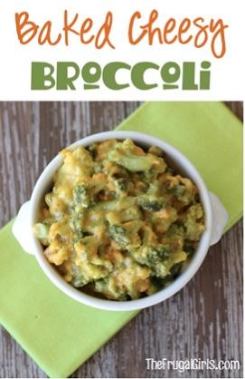 Baked Cheesy Broccoli Recipe