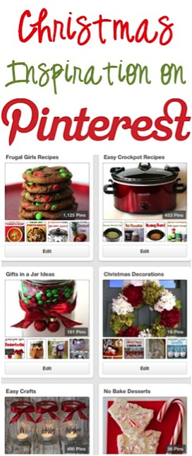 Christmas Inspiration on Pinterest