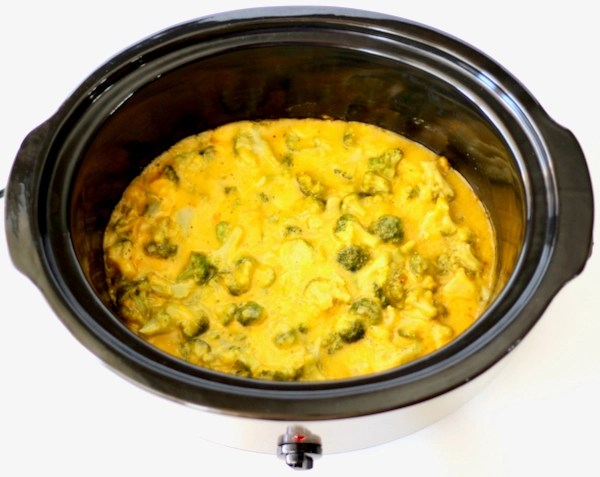 Crockpot Easy Cheesy Broccoli Recipe