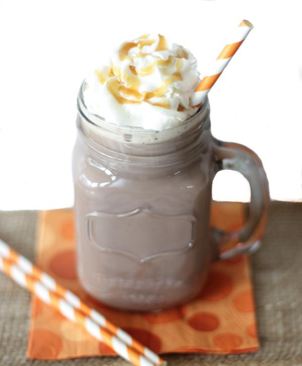 Crockpot Salted Caramel Hot Chocolate Recipe