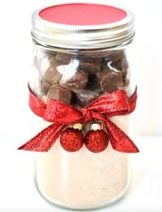Milky Way Cookies in a Jar Gift Idea