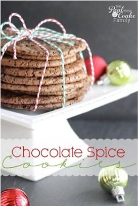 Chocolate Spice Cookies Recipe