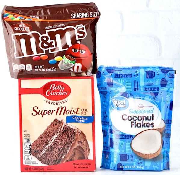 Coconut M&M Cookie Recipe