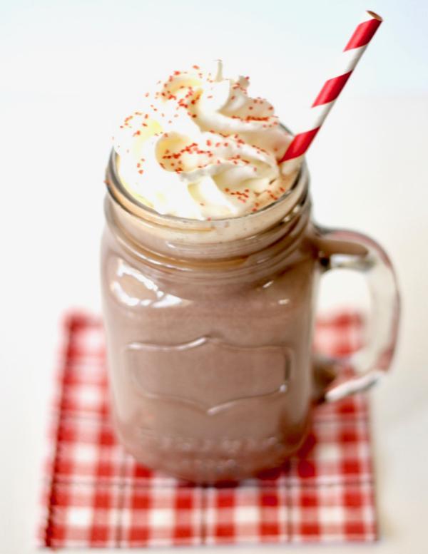 Crock Pot Peppermint Hot Chocolate