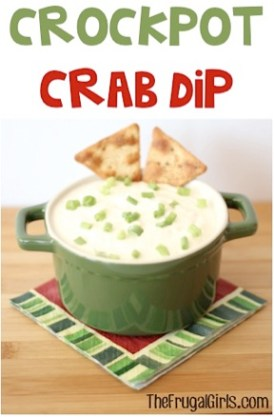Crockpot Crab Dip Recipe