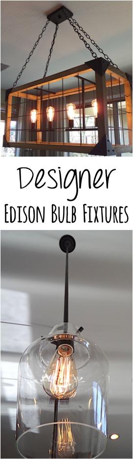 Designer Edison Bulb Fixtures
