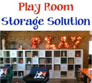 Play Room Storage Solution